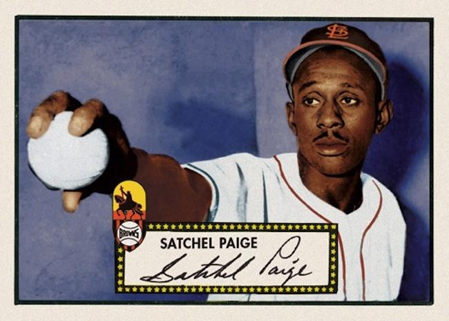 Satchel Paige Baseball